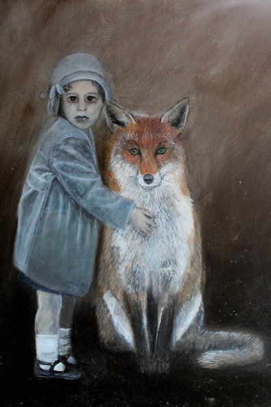 Me and Mr Fox 80 x 80 cm